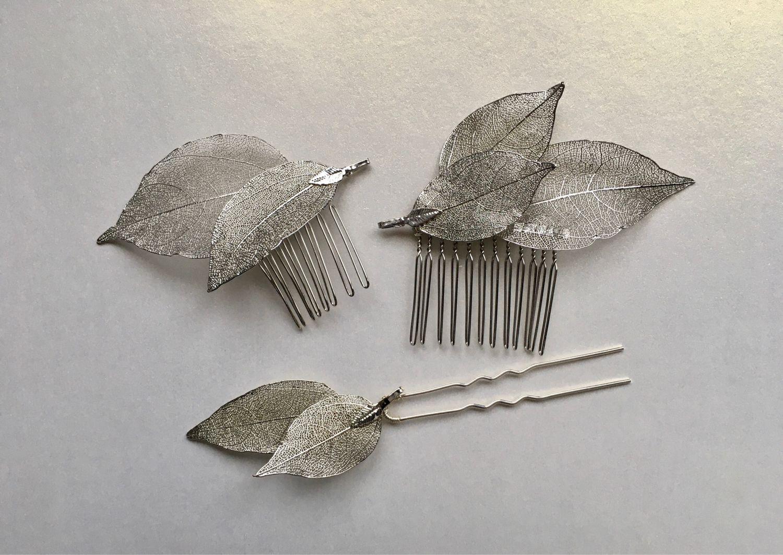 Украшение для волос «Листочки», Украшения в прическу, Москва,  Фото №1