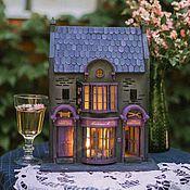 Для дома и интерьера handmade. Livemaster - original item Ready-made Dress Shop-a lamp house from the world of Harry Potter. Handmade.