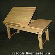 Для дома и интерьера ручной работы. Ярмарка Мастеров - ручная работа Столик для ноутбука. Handmade.
