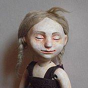 """Куклы и игрушки ручной работы. Ярмарка Мастеров - ручная работа шарнирная кукла """"Галочка"""". Handmade."""