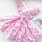 Платье ручной работы. Ярмарка Мастеров - ручная работа Платье для девочки из 100% Хлопка (США). Handmade.