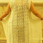 """Одежда ручной работы. Ярмарка Мастеров - ручная работа жилет-туника """" Орхидея с запахом ванили"""". Handmade."""