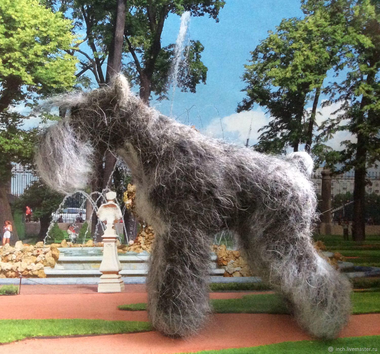 Цвергшнауцер перчик, Войлочная игрушка, Хабаровск,  Фото №1