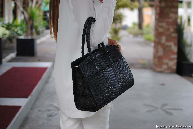 Bag made of Python skin Alma, Classic Bag, Moscow,  Фото №1