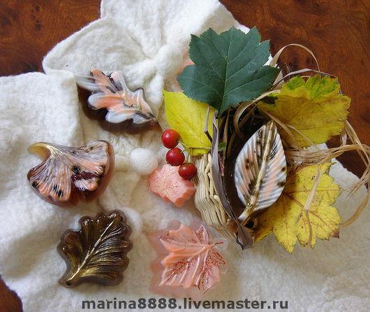 """Мыло ручной работы. Ярмарка Мастеров - ручная работа. Купить Набор мыла из коллекции Осень , """"Скоро осень..."""". Handmade."""