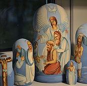 Русский стиль handmade. Livemaster - original item Matryoshka doll Christmas angel. Handmade.