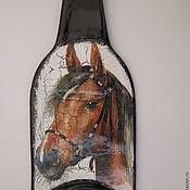 """Для дома и интерьера ручной работы. Ярмарка Мастеров - ручная работа украшение комнаты панно  """" Лошадь """". Handmade."""