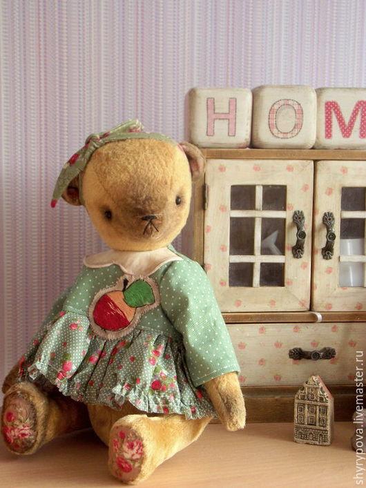 Мишки Тедди ручной работы. Ярмарка Мастеров - ручная работа. Купить Тутти -Фрутти. Handmade. Зеленый, мишка девочка, плюш