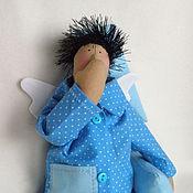 Куклы и игрушки ручной работы. Ярмарка Мастеров - ручная работа Кукла Тильда. Сонный Ангел, мальчик. Handmade.