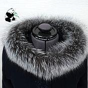 handmade. Livemaster - original item A furry. The finish on the hood Fox fur. Handmade.