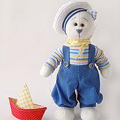 Куклы и игрушки ручной работы. Ярмарка Мастеров - ручная работа Коты и кошки. Морской котик мягкая игрушка. Handmade.