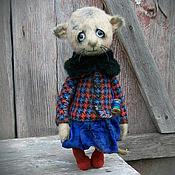 Куклы и игрушки ручной работы. Ярмарка Мастеров - ручная работа Teddy bear and friends/ Artist Bear. Люся.. Handmade.