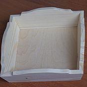Материалы для творчества ручной работы. Ярмарка Мастеров - ручная работа Конфетница из дерева. Handmade.
