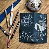 Открытки ручной работы. Ярмарка Мастеров - ручная работа Авторская открытка. Handmade.