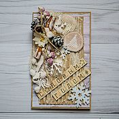 Открытки handmade. Livemaster - original item Greeting card Christmas