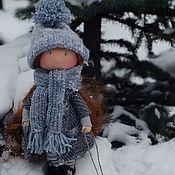 Куклы и игрушки ручной работы. Ярмарка Мастеров - ручная работа Зимняя Рыжуля:). Handmade.