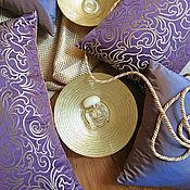 Для дома и интерьера ручной работы. Ярмарка Мастеров - ручная работа Фиолетовые подушки. Handmade.