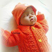 Работы для детей, ручной работы. Ярмарка Мастеров - ручная работа Комбинезон Оранжевый. Handmade.