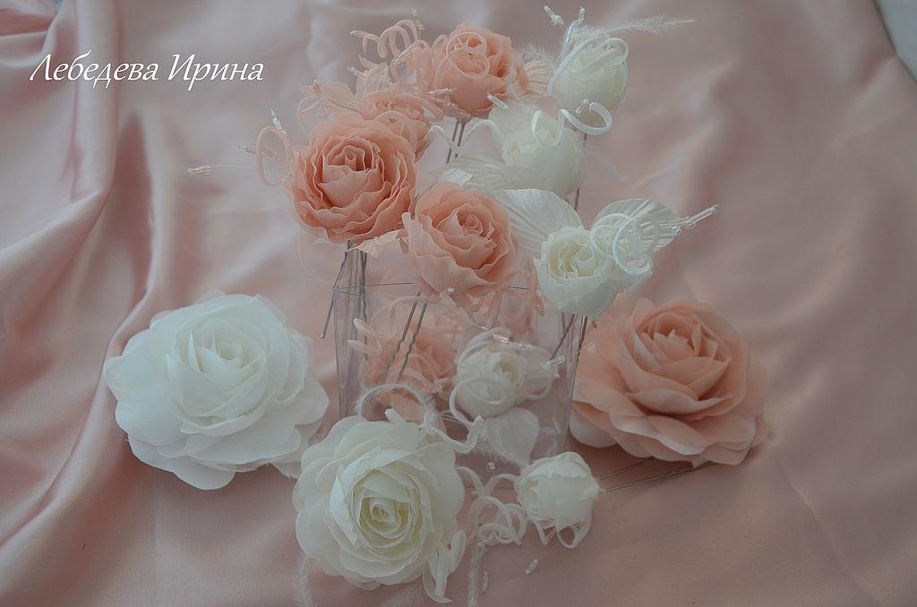 Шпильки для волос цветы купить доставка цветов, букетов по городу москва