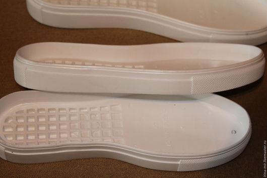 Другие виды рукоделия ручной работы. Ярмарка Мастеров - ручная работа. Купить Подошва УРАГАН для обуви. Handmade. Белый