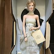 Винтаж handmade. Livemaster - original item Princess Diana portrait doll from the Franklin mint in the box. Handmade.