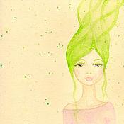 """Картины и панно ручной работы. Ярмарка Мастеров - ручная работа Акварельная картина """"Весна"""". Handmade."""