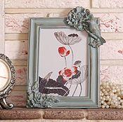 """Фоторамки ручной работы. Ярмарка Мастеров - ручная работа Рамка для фото """"Ботаника"""". Handmade."""