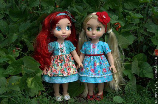 Одежда для кукол ручной работы. Ярмарка Мастеров - ручная работа. Купить №014 Платье для куклы Дисней/Disney.. Handmade. Кукла дисней
