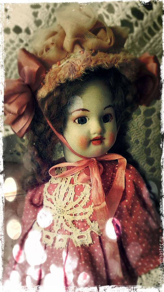 Коллекционные куклы ручной работы. Ярмарка Мастеров - ручная работа. Купить Розовопудровое....Без названия.... Handmade. Бледно-розовый, лён