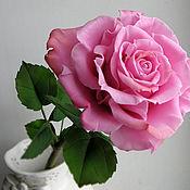 Цветы и флористика ручной работы. Ярмарка Мастеров - ручная работа Роза ручной работы. Handmade.