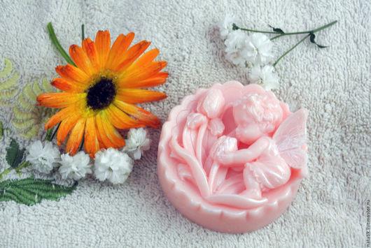 Сувенирное мыло `Фея цветов`