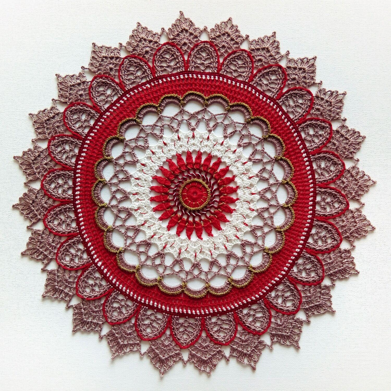 Crochet napkin 'May', Doilies, St. Petersburg,  Фото №1