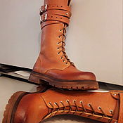 Ботинки ручной работы. Ярмарка Мастеров - ручная работа Ботинки: SAFARI - Z - 4. Handmade.