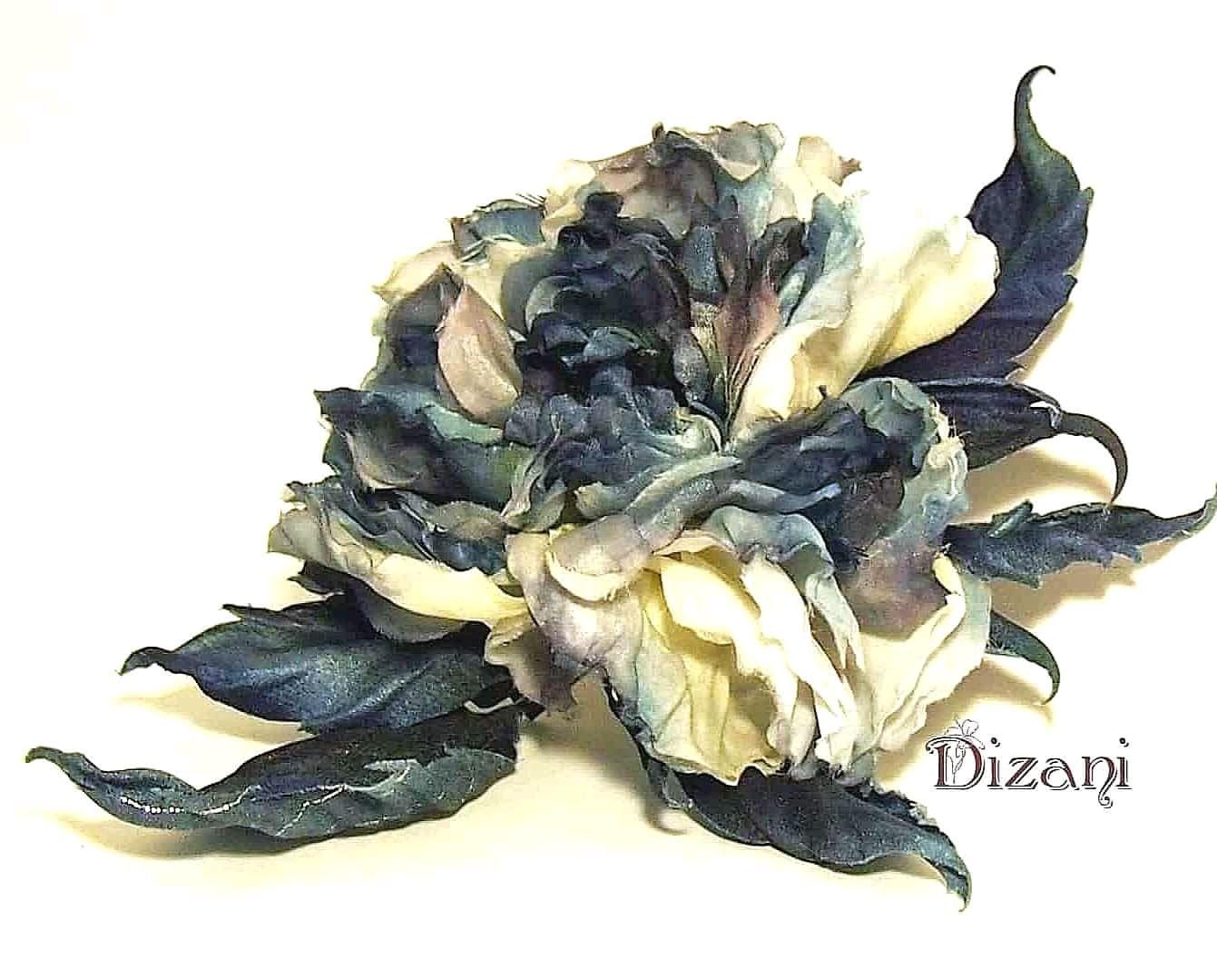 Rose 'Eilat' . Silk flowers, cloth flowers, Flowers, Moscow,  Фото №1
