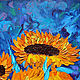 Order Oil painting Sunflowers on the birthday of van Gogh. Nardetum (Naradostvam). Livemaster. . Pictures Фото №3