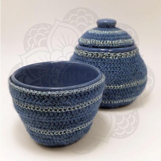 Чайный набор `Синий иней` от Чайных Дел Мастера
