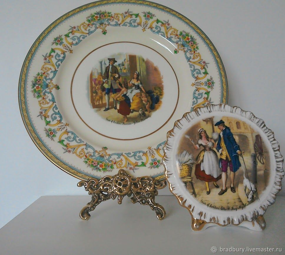 Rarity.Porcelain vase ' lavender Saleswoman'. England, Vintage interior, Cambridge,  Фото №1