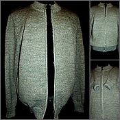Одежда handmade. Livemaster - original item Associated linen Hoody with zipper Style Ease Comfort. Handmade.
