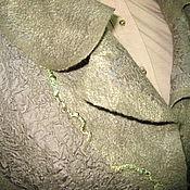 """Одежда ручной работы. Ярмарка Мастеров - ручная работа Костюм (жилет + юбка)  """"Оливковый"""". Handmade."""