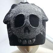 """Аксессуары ручной работы. Ярмарка Мастеров - ручная работа Шапочка """"Skull"""". Handmade."""
