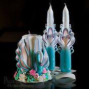 Свадебный салон ручной работы. Ярмарка Мастеров - ручная работа Резные свадебные свечи.Резные свечи.Свечи резные.Свадебные резные свеч. Handmade.