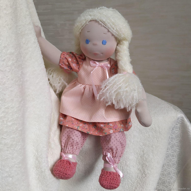 Кукла Вальдорфская, Вальдорфские куклы и звери, Челябинск,  Фото №1