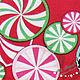 """Шитье ручной работы. Заказать Новогодний хлопок """"карамелька"""". Светлана. Ярмарка Мастеров. Хлопок для рукоделия, хлопок для скрапа, ткань для шитья"""