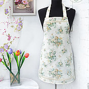 Для дома и интерьера handmade. Livemaster - original item Apron for girls Summer bouquets. Handmade.