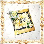 Открытки handmade. Livemaster - original item gift envelopes: Christmas envelope for money. Handmade.