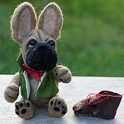 Куклы и игрушки handmade. Livemaster - original item Bulldog Javier. Handmade.