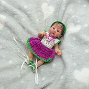 Куклы Reborn ручной работы. Ярмарка Мастеров - ручная работа Полностью силиконовая малышка  Фрося 16 см. Handmade.