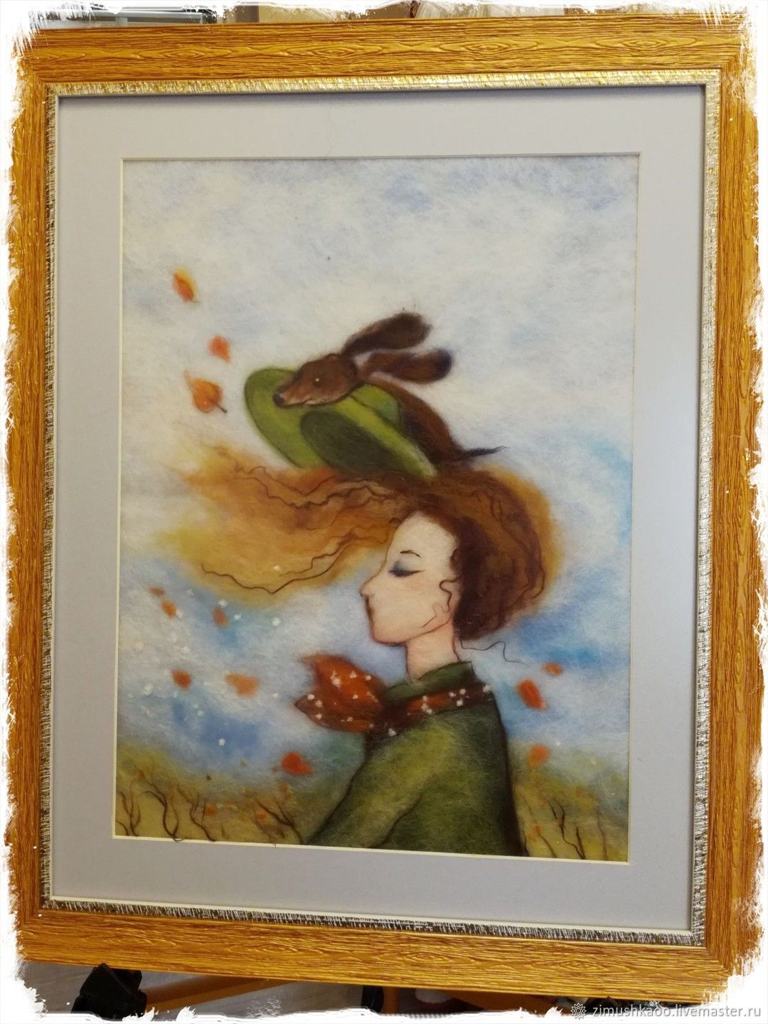 'Autumn Wind ' Wool Painting, Pictures, Bryansk,  Фото №1