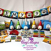 Подарки к праздникам ручной работы. Ярмарка Мастеров - ручная работа День рождения в стиле Лего Ниндзяго. Handmade.