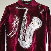 Одежда ручной работы. Ярмарка Мастеров - ручная работа Костюм для фигурного катания. Handmade.